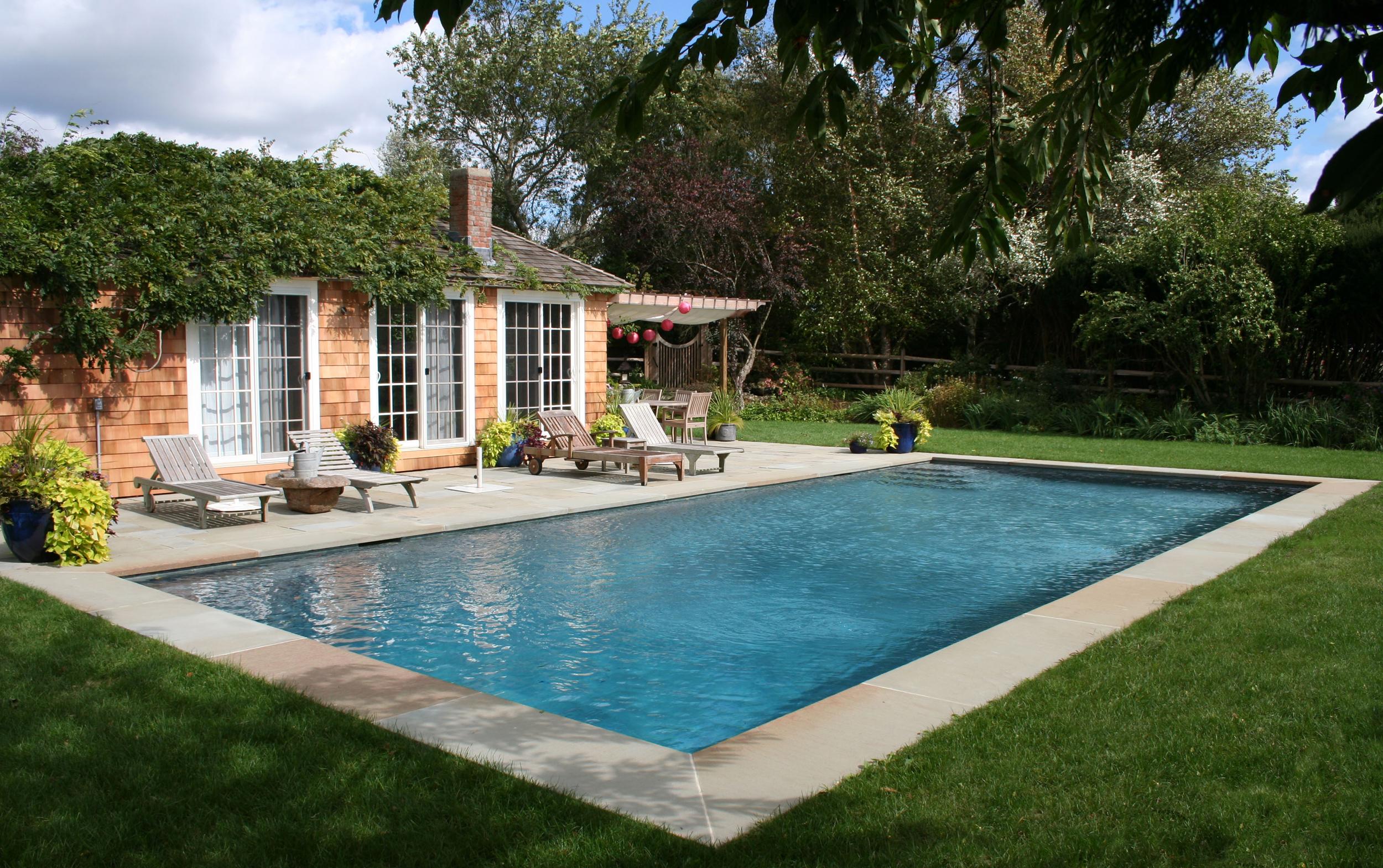 Guillo pools for Hamptons pool design